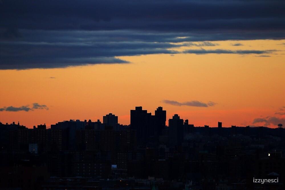 NYC Sunset by izzynesci