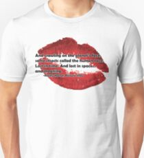 Rocky Horror Picture Show Quote Unisex T-Shirt