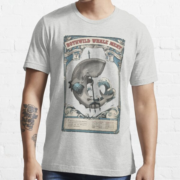 Rothwild Whale Meat Essential T-Shirt
