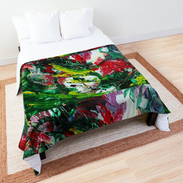 Art Series _ Vivid Strokes 4 Comforter