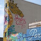 Colorful Mural, Jersey City, New Jersey by lenspiro