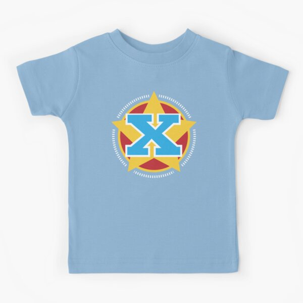Superhero Letter X. Star and stripes Kids T-Shirt