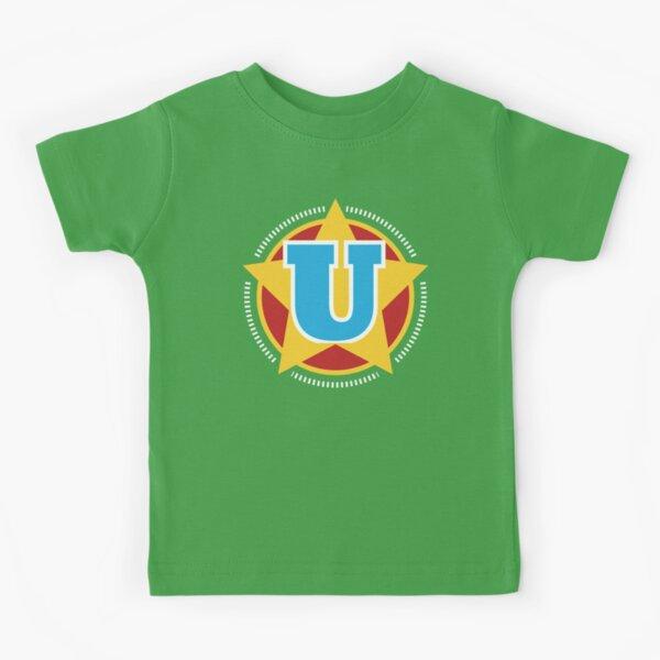 Superhero Letter U. Star and stripes Kids T-Shirt