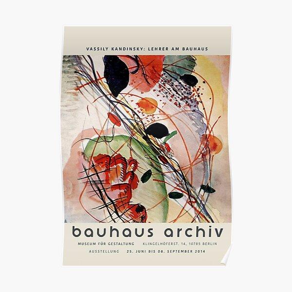 Kandinsky - Bauhaus Archiv Poster