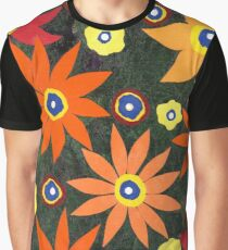 FIRE FLOWERS Graphic T-Shirt