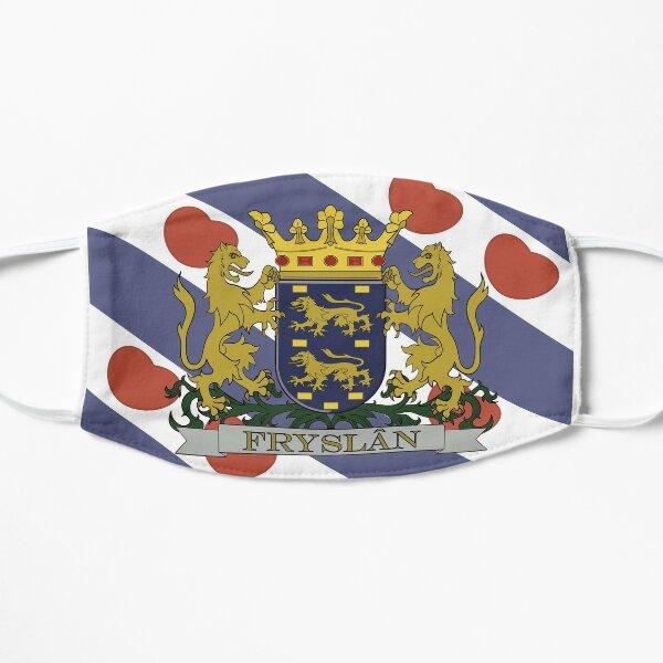 Provinciewapen van Friesland (Friesland Coat of Arms) Flat Mask