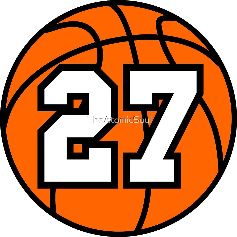 Basketball 27 by TheAtomicSoul