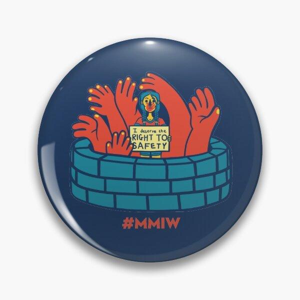 MMIW awareness Design Pin