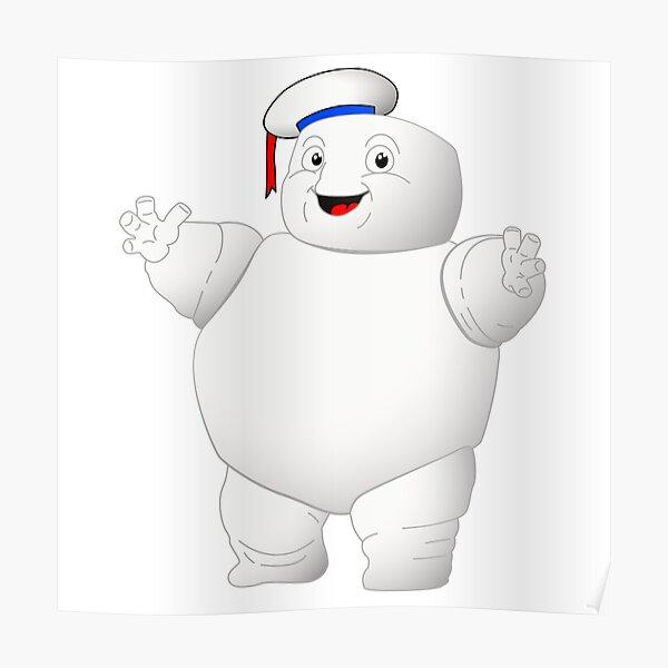 Puft Marshmallow Man Poster