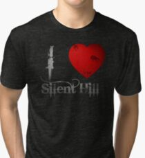 I Heart Silent Hill Tri-blend T-Shirt