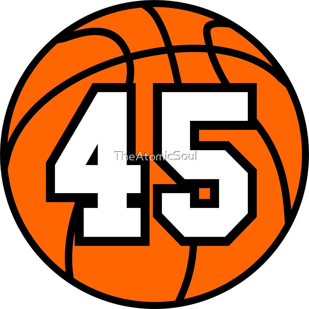Basketball 45 by TheAtomicSoul