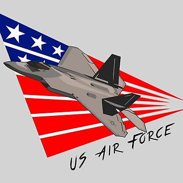 US Air Force - F-22 Raptor by MD-Colors