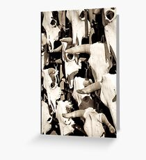 Skullpture - Print Greeting Card