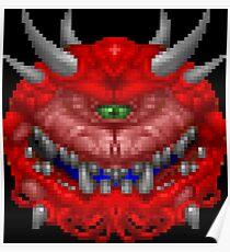 Doom Cacodemon Poster