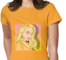 Sabrina C Rainbow Merchandise Womens Fitted T-Shirt