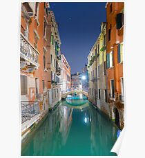 Water canal Poster