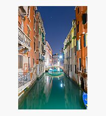 Water canal Photographic Print