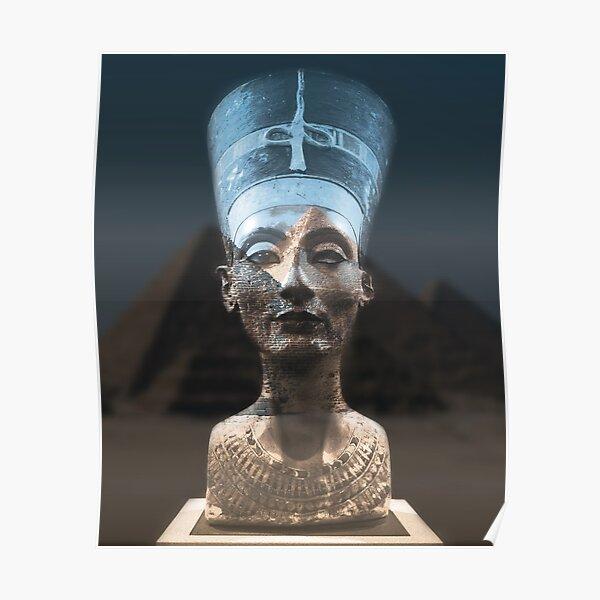 Nefertiti, of Egypt Poster
