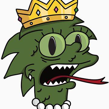 Lizard Queen by wonderdonut15