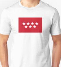 Flag of the Community of Madrid Unisex T-Shirt