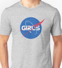 Nasa Mädchen Slim Fit T-Shirt