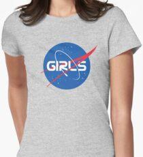 Nasa Girls Women's Fitted T-Shirt
