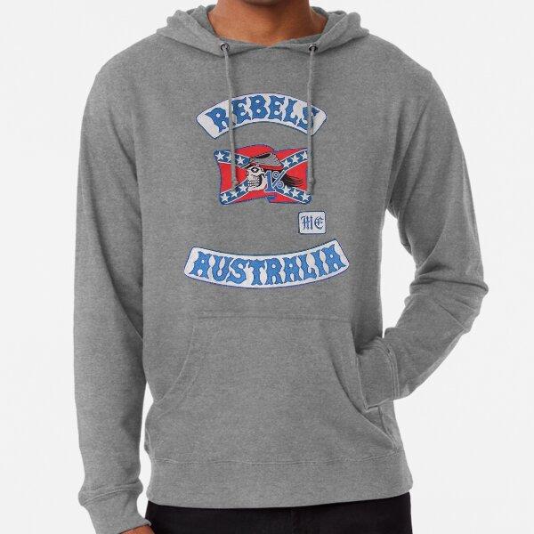 rebel MC supporter  Lightweight Hoodie