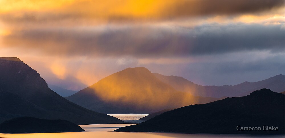 Lake Pedder Tasmania by Cameron Blake