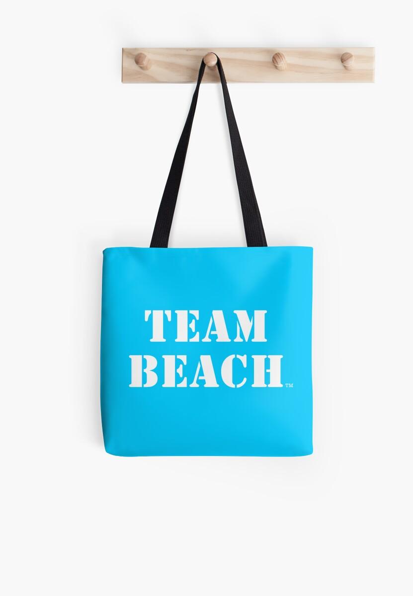 TEAM BEACH - Ocean Blue Tote by TEAMBEACHbasics