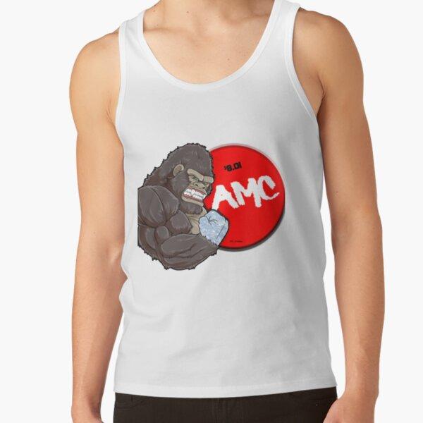 AMC Diamond Handed Ape 8.01 Tank Top