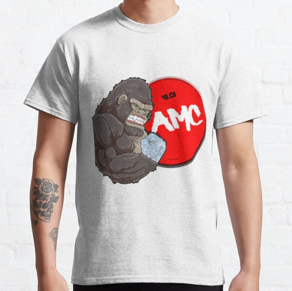 AMC Diamond Handed Ape 8.01 Classic T-Shirt