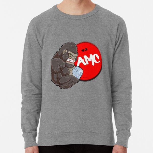 AMC Diamond Handed Ape 8.01 Lightweight Sweatshirt