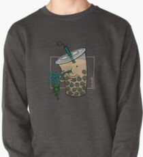 Boba Tea :: Carnivorous Foods Series Pullover Sweatshirt