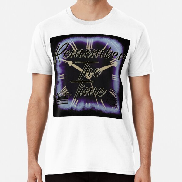 Remember The Time Single Cover Premium T-Shirt