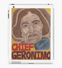Chief Geronimo iPad Case/Skin