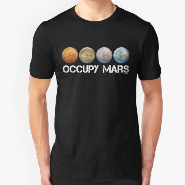 Occupy Mars Terraform Slim Fit T-Shirt