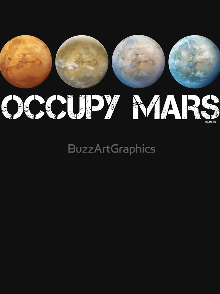 Occupy Mars Terraform | Unisex T-Shirt