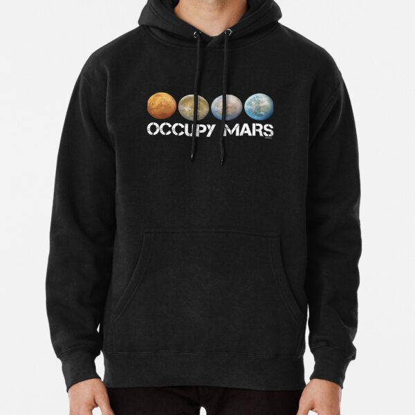 Occuper Mars Terraform Sweat à capuche épais