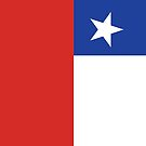 Chile Flag Banner by stoopiditees