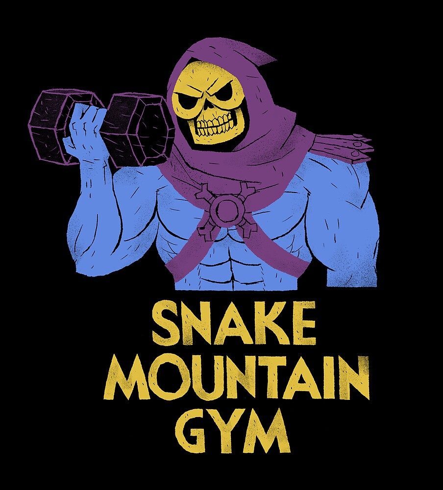 snake mountain gym by louros