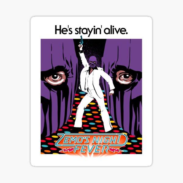 The Purple Fever Sticker