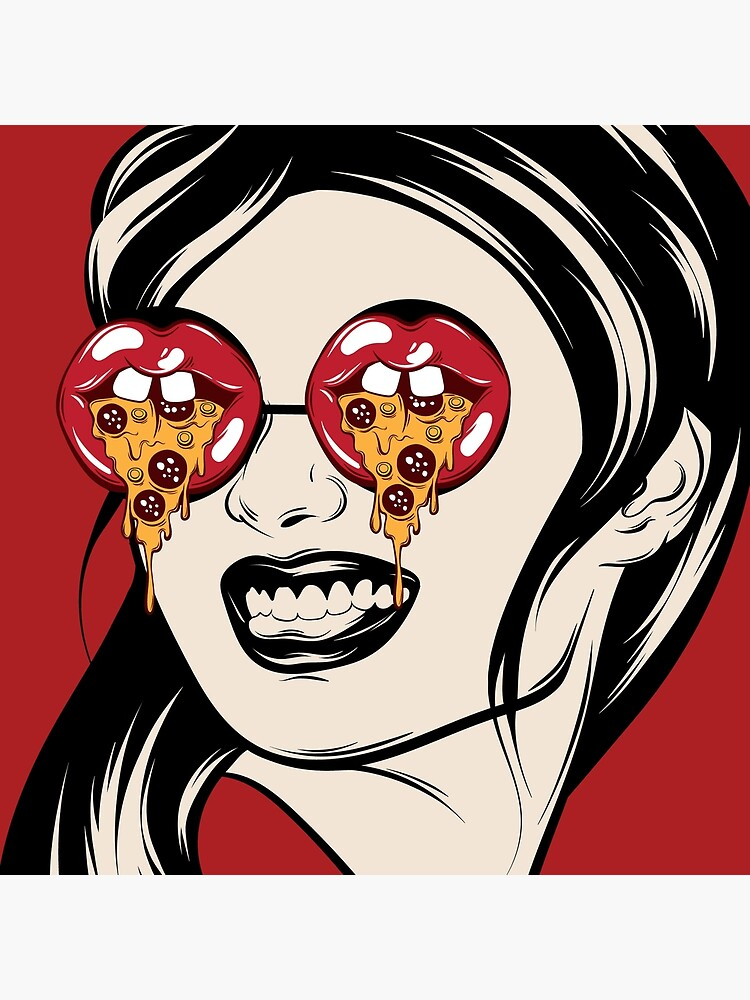Eyes For Pizza by TapestryGirls