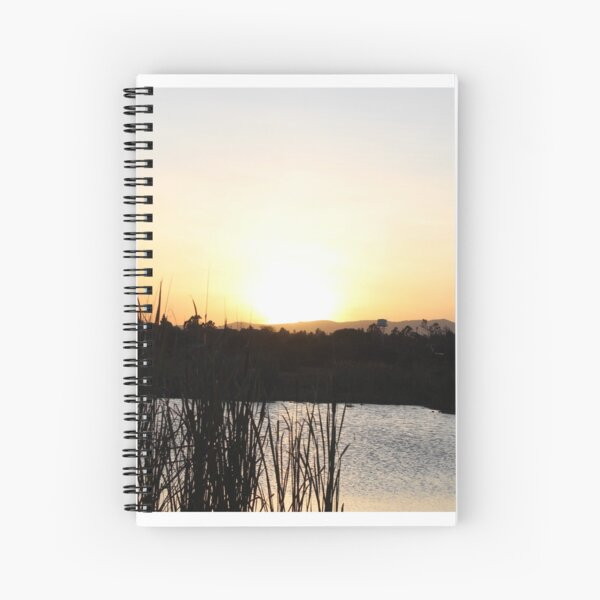 The Sunset Lake Collection Spiral Notebook