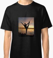 dancer at sunset Classic T-Shirt
