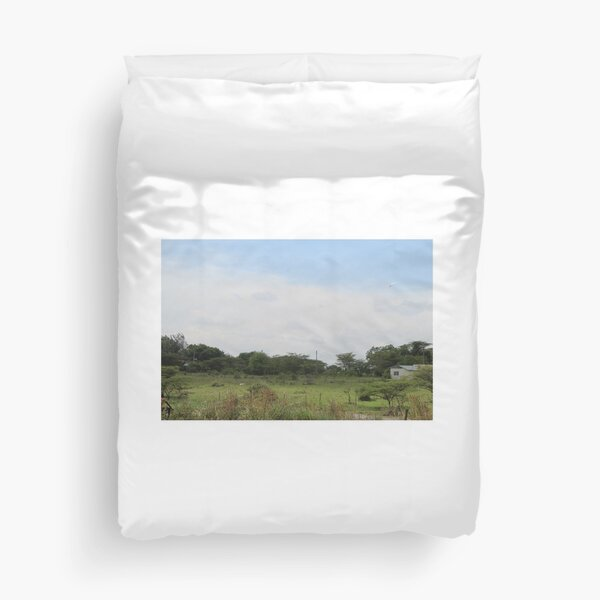 The Taking a Walk Collection Duvet Cover