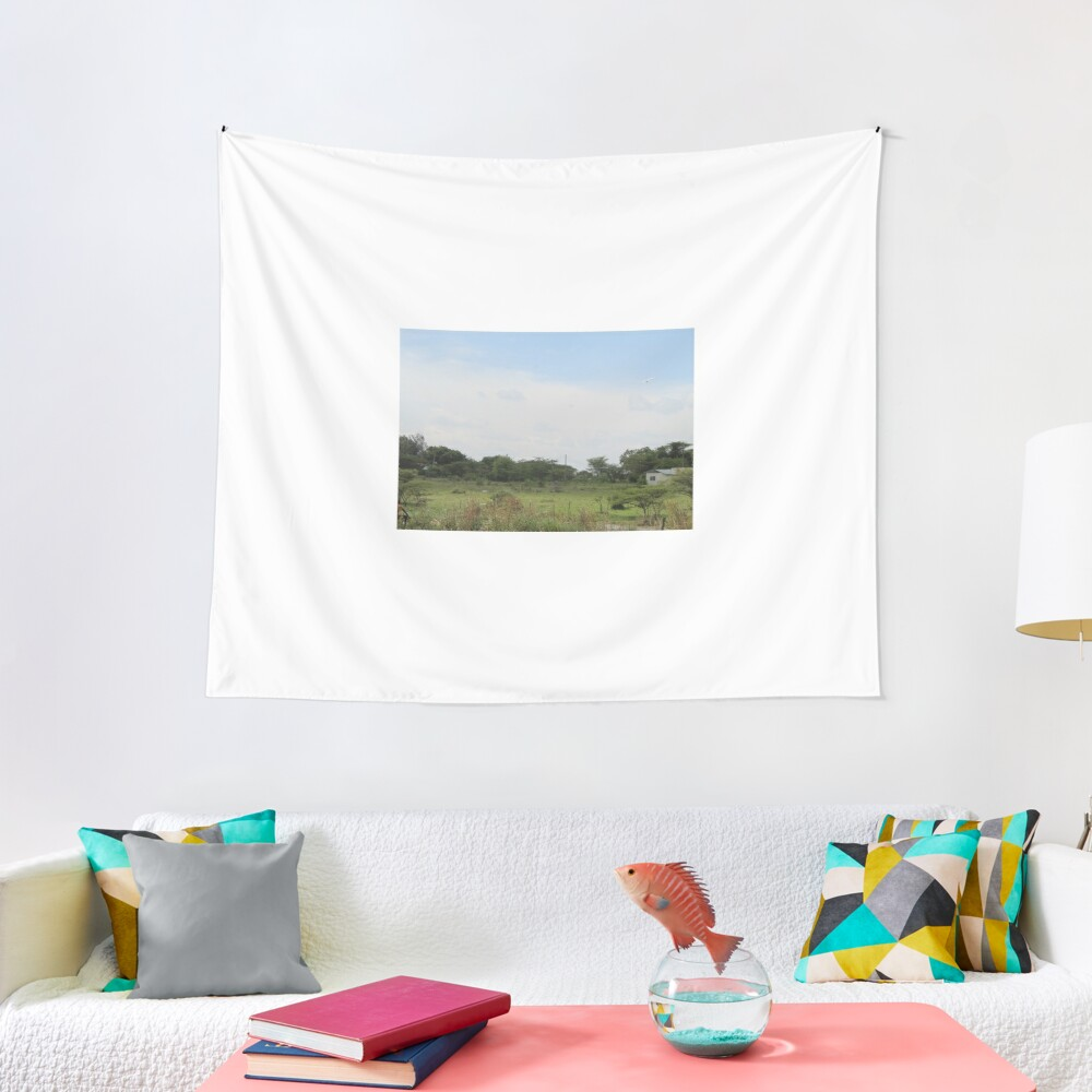 The Taking a Walk Collection Tapestry