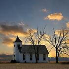 Little Church On The Prairie by Theresa Campbell