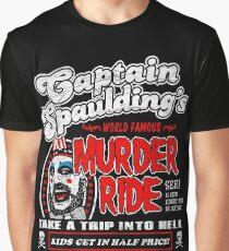 Captain Spaulding Murder Ride Graphic T-Shirt