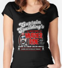 Captain Spaulding Murder Ride Women's Fitted Scoop T-Shirt