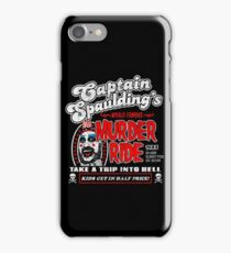Captain Spaulding Murder Ride iPhone Case/Skin
